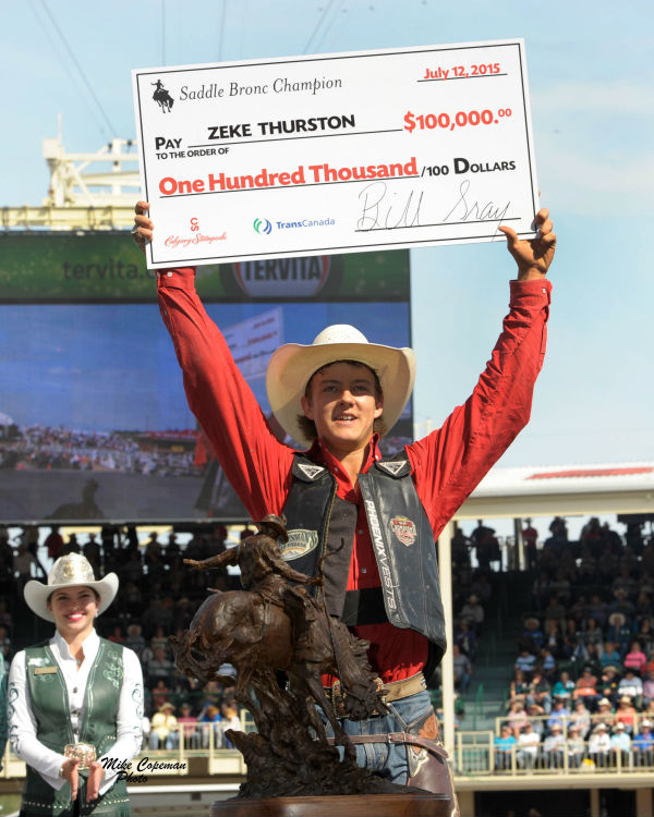 Results Amp Draws Calgary Stampede 2015