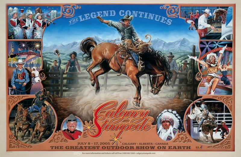 2014 Calgary Stampede Poster