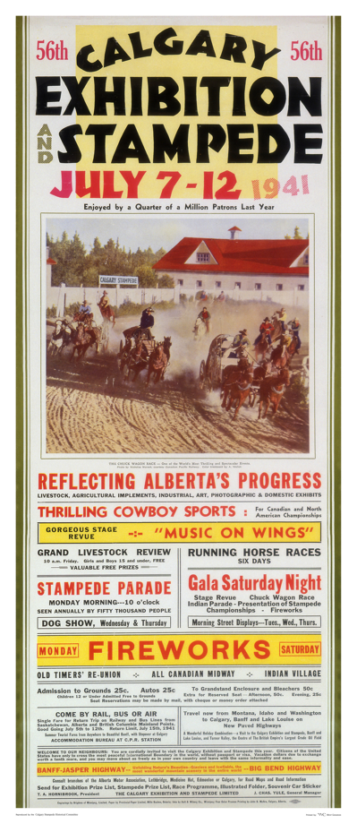 Parade Of Posters Calgary Stampede