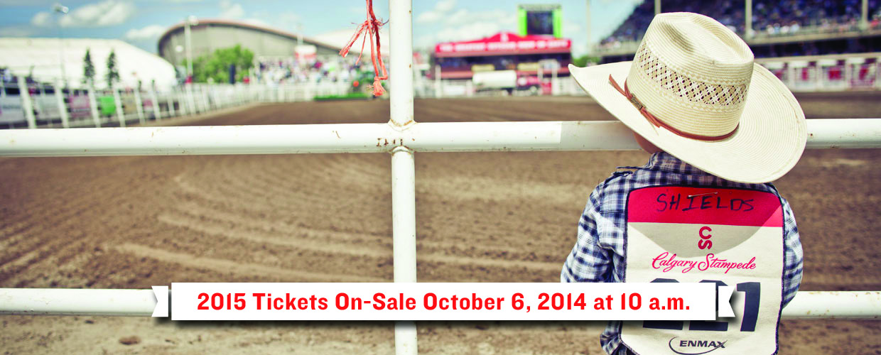 Tickets Calgary Stampede 2015